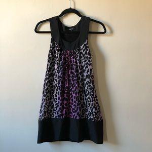 Express Cheetah Print Dress
